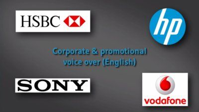 Corporate & promotional voice-over demo