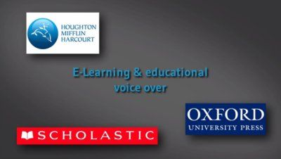 E-Learning & educational voice-overs