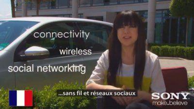 Subtitling montage in 4 languages