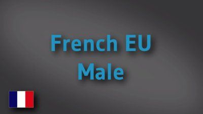French EU male voice-over demo