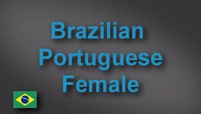 Brazilian Portuguese female voice-over demo