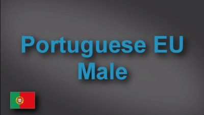 Native Portuguese male voice-over demo