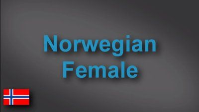 Norwegian female voice-over demo