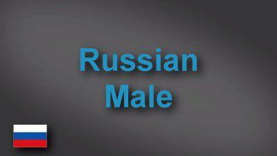 Russian male voice-over demo