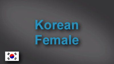 Korean female voice-over demo