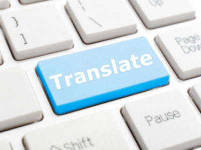 perfect translation - translate button on keyboard