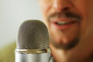 male voice over agency