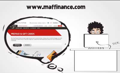 English read in an Arabic Accent for MAF Finance