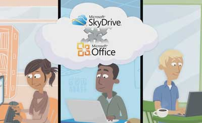 Microsoft Skydrive - video localization in Portuguese
