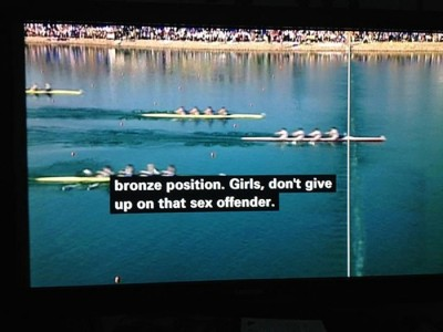 bronze position British subtitling