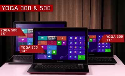 Italian voice-over for Lenovo Yoga