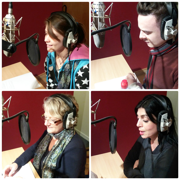 Voice over course and lessons workshop