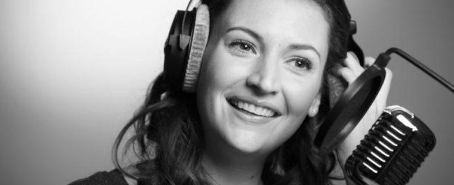Voice artist Kathryn