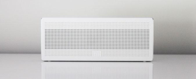 White speakers for Audio branding