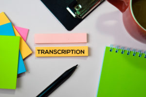How to maximise content with audio transcription
