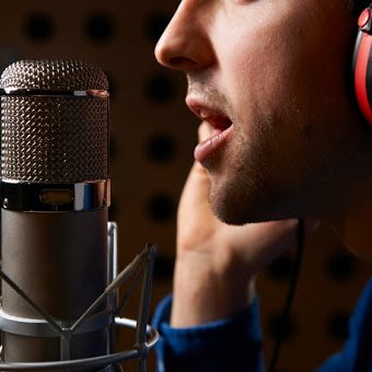 Male voice-over artists at sensible prices